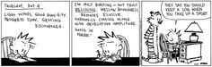 Calvin and Hobbes -- I'm only burping - not truly belching. Mellow roundness remains elusive. Harmonics coming along with developing amplitude. Hang in there!
