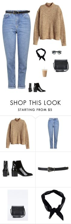 """""""Untitled #1474"""" by tayloremily218 on Polyvore featuring H&M, Topshop, Forever 21, Matt & Nat, Boohoo and J.Crew"""