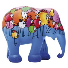 Elephant Parade | 10 cm The Chics of Dumbo | Elephant Conservation | Collectible | Hand Painted | Chicks | www.homearama.co.uk