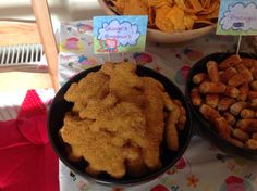 Peppa Pig Party Food - George's Dinosaurs