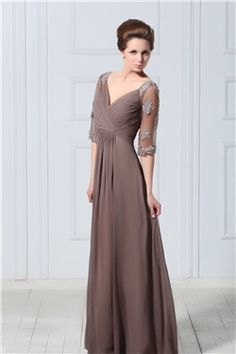 Gorgeous A Line Sweetheart Floor Length Veronikas Mother Of The Bride Dress