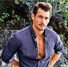 DavidGandy for Marks and Spencer Famous Male Models, Androgynous Models, David James Gandy, Perfect Man, Gorgeous Men, Beautiful People, Beautiful Things, Sexy Men, Hot Men