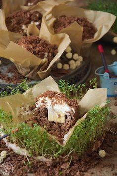 Muffinki Kopiec kreta, babeczki