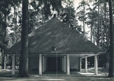 Woodland Chapel, Stockholm Sweden (1918-20) | Eric Gunnar Asplund
