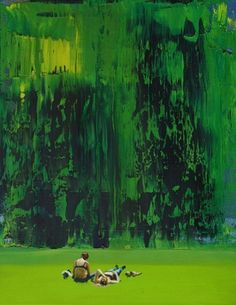 "Saatchi Online Artist Grażyna Smalej; Painting, ""Girls"" #art"