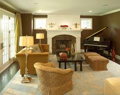 "Living Room ""arched Fireplace"""
