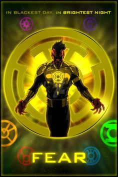 The Lantern Corps - Sinestro Corps by KPants on DeviantArt