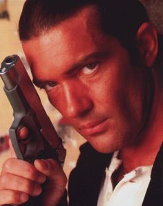 Antonio Banderas  as El Mariachi in Desperado.