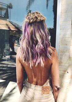 www.estetica.it | Gli hairlook di Veronica Ferraro a Coachella 2017