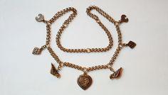 "Large Vintage Kalevala Koru ""Aarrekääty"" Bronze necklace, Finland (F584) by LifeUpNorth on Etsy"