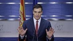 Sánchez pide al Rey que le proponga candidato y avisa: «Me siento fuerte»