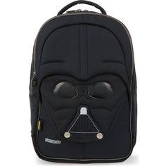 SAMSONITE Star Wars™ backpack ($89) ❤ liked on Polyvore featuring bags, backpacks, black, padded bag, black zip bag, samsonite backpack, black rucksack and handle bag