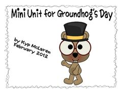 Included in this mini unit:  Groundhog Riddle,  3 Groundhog's Day Poems,  Pages for 5 W Poems for students to write,  Groundhog Maps,  Graphing activities