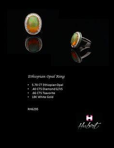 RH6295-Ethiopian Opal Ring
