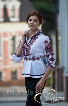 Сорочка вишита з льону, фото 2 Folk Fashion, Fashion Now, Ethnic Fashion, Hijab Fashion, Fashion Outfits, Womens Fashion, Hand Embroidery Dress, Embroidered Clothes, Chemises Country