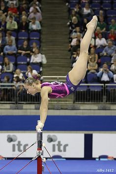 Ksenia Semenova on uneven bars, women's gymnastics, gymnast, WAG, Russia, Russian moved from @Kythoni Form, Grace, & Dance board http://www.pinterest.com/kythoni/form-grace-dance/ m.15.89 #KyFun