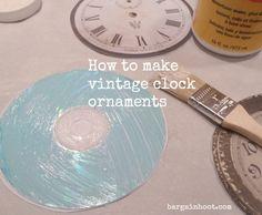 clock face ornament 7