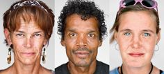 Portraits of L.A.'s homeless by Martin Schoeller