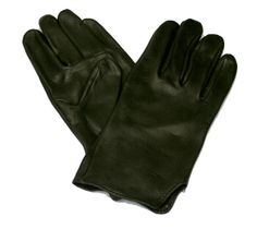 For my costume of The Shadow: Dress Gloves, Black Deerskin