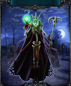 A Lich, responsible for raising the Wendigos and Ghouls in @Battleknight