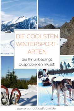 Skifahren macht doch jeder! Aber was ist mit Husky-Schlittenfahren, Gletscherwandern, Langlaufen oder Schneeschuhwandern?