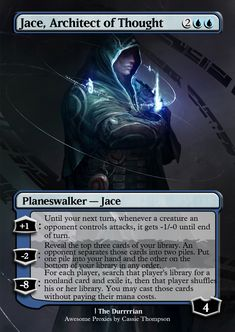 Jace, Architect of Thought by Itsfish3 on DeviantArt