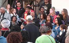 Rev. Barber's speech electrifies the crowd