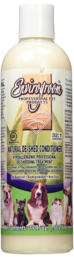 Envirogroom Natural De Shed Conditioner, 17 oz ** You can find out more details at the link of the image.