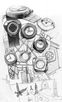 Dzmitry Samal's Concrete Watch: A City for Your Wrist - Core77
