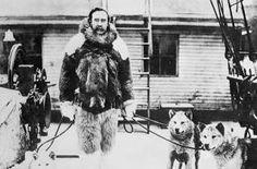 El explorador estadounidense Robert Peary, que conquistó por primera vez el Polo Norte.