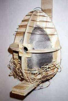 nichoirs du web Oeuvre D'art, Leather Backpack, Images, Woodworking Joints, Nesting Boxes, Virgos, Originals, Leather Backpacks