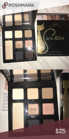 NEW••TARTE SEX KITTEN PALETTE New in box. Always authentic. Gorgeous lil palette from my favorites TARTE!!! tarte Makeup Eyeshadow