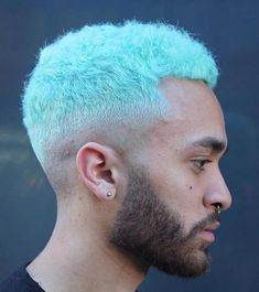 hair men 50 Mens Hair Colour Ideas For Men Thinking Of Dying Their Hair Bleached Hair Men, Dyed Hair Men, Mens Hair Colour, Cool Hair Color, Black Men Hairstyles, Boy Hairstyles, Hair Dyed Underneath, Boys Colored Hair, Hair Designs