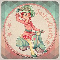 Just Roll with it - Digital Stamp by The Paper Shelter. Digital stamps, Digital Papers,Scrapbooking, Paper Crafts, Cardmaking