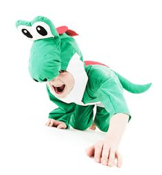 Super Mario Yoshi Costume for a child by SewCoolCreation on Etsy