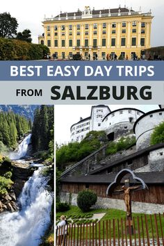 Which day trips from Salzburg are worth it? Find out if you'd rather visit Hallstatt or Zell am See, Munich or Innsbruck, Werfen or Berchtesgaden. Road Trip Europe, Europe Travel Guide, Travel Guides, Travel Destinations, Innsbruck, Salzburg, Honeymoon Packing, Countries Europe, Honeymoon Inspiration