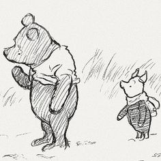 Winnie The Pooh by E. H. Sheperd