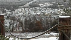 2.26.13 Snow day in Branson Missouri @ Stormy Point Village on Table Rock Lake.