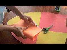 hoe maak je een schild van papier en karton?