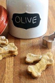 Homemade Dog Treats | My Baking Addiction-pumpkin peanut butter treats!