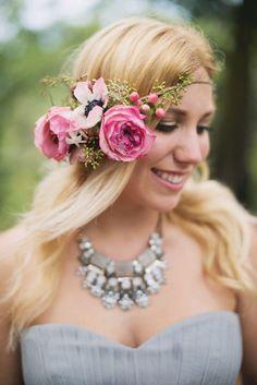 Beautiful Rustic Glam Bride