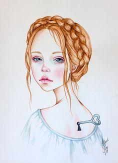 loli doll by BlackFurya Grunge Art, Poetry Art, Illustrations And Posters, Art Drawings, Human Body Drawing, Art, Art Pictures, Portrait Art, Portraiture Art
