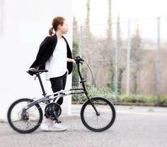スタイルに合わせて選べる2タイプモノトーンスタイルで構成する20インチフォールディングバイシクル DOPPELGANGER 202-GY  服を着るように アクセサリーを身につけるように 自分だけのスタイルを  Like putting on clothes and accessories.  #bicycle #bike #vicicleta #fahrrad #velo #bicicletta #fiets #cykel #велосипед #POLKUPYÖRÄRETKI #자전거 #ドッペルギャンガー #DoppelgangerBike #自転車のある風景 #instabicycle #minivelo #foldingbike