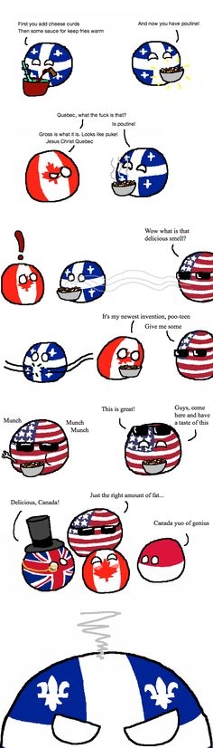 Aw, shit I kinda feel bad for Quebec. Canada Jokes, Canada Funny, Funny Tweets, Funny Memes, Hilarious, Funny Comic Strips, Funny Posters, Country Art, Fun Comics