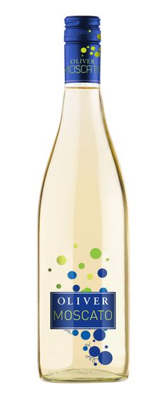 Oliver Winery Moscato. I love Moscato, and this is a beautiful bottle... I want it!!