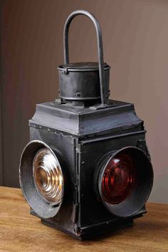 Vintage Railway Lantern by William Sheppee USA $87