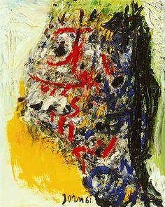 Asger Jorn   Abstract Artist