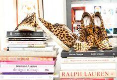 Aurélie Bidermann : I wear both of these constantly; they are my go-to everyday shoes. Sneakers, Christian Louboutin; Brogues, Miu Miu; Bracelets, Aurélie Bidermann