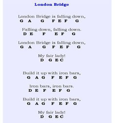 piano sheet music for beginners with letters - Google Search