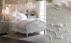 shabby chic dream bed